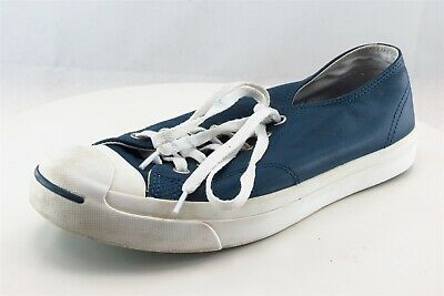 4829b75be76d33 Converse Jack Purcell Fashion Sneakers Blue Leather Women8Medium (B