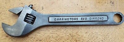 Garringtons Red Diamond Adjustable Spanner Wrench 8 Inch 5/8 Whitworth