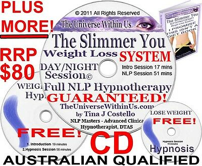 Slimmer You Clinical Hypnotherapy System Cd Weight Loss Hypnosis Weightloss Slim