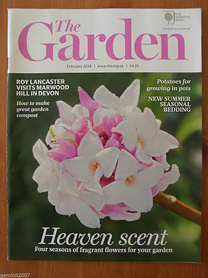 RHS MAGAZINE The Garden - FEBRUARY 2014 - Flowers Plants Horticulture - VGC