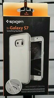 Spigen® Neo Hybrid Crystal Shockproof Cover Protective Case Samsung Galaxy S7
