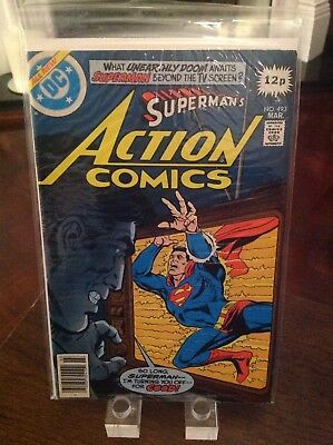 "Action Comics Starring Superman 493 Vol 1 ""The Metropolis Ufo Connection"""