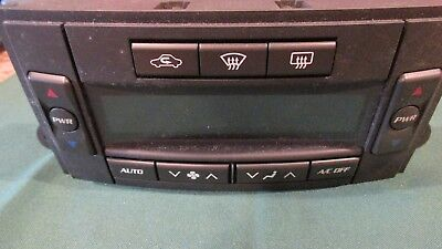 2005 2006 Cadillac Cts Hvac Control Panel Oem Part #21998813