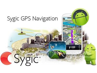 Quanmin Sygic GPS Map Card 16GB World Maps for Android