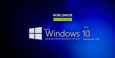 Windows 10 Professional Original 32|64 Bit Pro Key Activation Code License Key