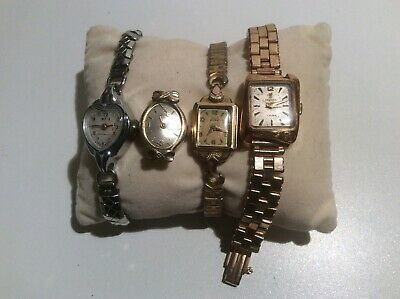 Job Lot Of Vintage Watches, Spares/ Repairs ORIS, ROTARY,SMITH ASTRAL & FESTINA
