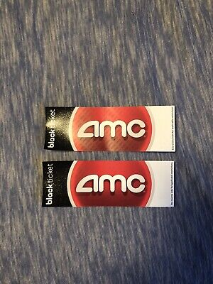 AMC Black Movie Ticket. Amc Theater (Any State) - No exp
