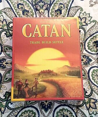 New, unopened Settlers of Catan Board Game  5th Edition.