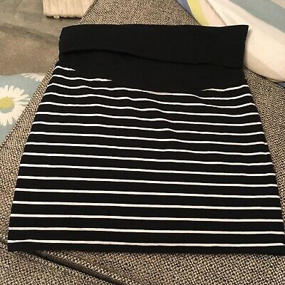 Jojo maman bebe stretch black Maternity Skirt size x-small excellent condition