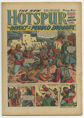 The Hotspur 149 (August 25 1962) very high grade copy