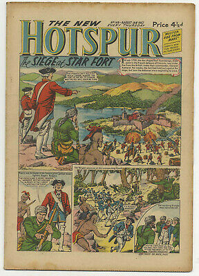 The Hotspur 148 (August 18 1962) very high grade copy
