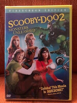 Scooby-Doo 2: Monsters Unleashed (DVD, 2009, Widescreen Edition) NEW Free Ship