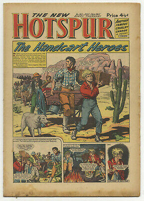 The Hotspur 145 (July 28 1962) high grade copy