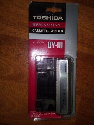 BRAND NEW - TOSHIBA CASSETTE WINDER カセットワインダ DY-10 - made in Japan