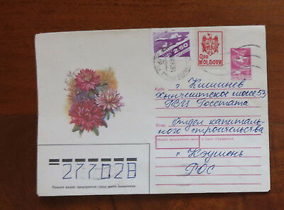 Moldova - 1993 Cover with Stamps