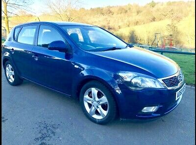 2010 KIA Ceed 1.6 CRDi 3 5Dr CEED 2 ECODYNAMICS CRDI Cheap Tax £20 year