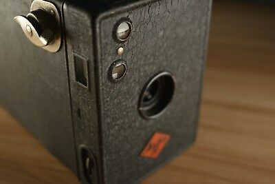 Vintage AGFA Box C. 1930s + Case - Very Old - Fantastic Condition