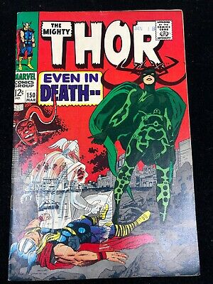 The Mighty Thor #150 (1968) | Stan Lee & Jack Kirby! High Grade Silver Age Book!