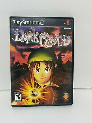 Dark Cloud for Sony PlayStation 2 PS2 Black Label Complete Excellent!