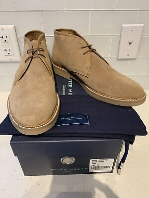 2abaa644c88 STEVE MADDEN HACKSAW Chukka Suede Leather Boots Tan Brown Men s Size ...