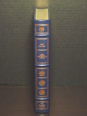 Signed 60 - Franklin Library - French Lieutenant's Woman - John Fowles - Leather