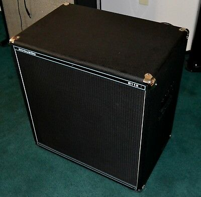 Acoustic Bass Cabinet Model B115 - EXCELLENT Condition - Local Pick Up Only