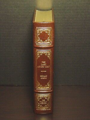 Signed 60 - Franklin Library - The Last Angry Man - Gerald Green - Leather