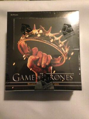 2013 Rittenhouse House Game Of Thrones Season 2 Hobby Box Factory Sealed Rare!!!