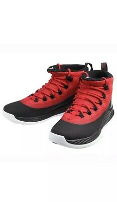 factory price b402a 611f1 Jordan Ultra.Fly 2 Mens 897998-001 Black Gym Red Basketball Shoes Size 10.5