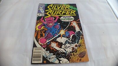 AWESOME Marvel Comic.THE SILVER SURFER 1988. A Must See!