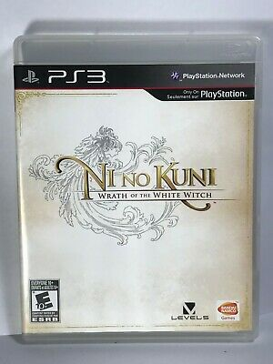 NI NO KUNI WRATH OF THE WHITE WITCH Playstation 3 PS3 Complete CIB VGC