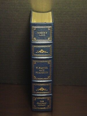 Signed 60 - Franklin Library - Eleanor And Franklin - Joseph P. Lash - Leather