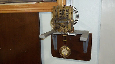 Fs Mauthe Vienna Regulator Movement Complete With Hands, Gong & Pendulum