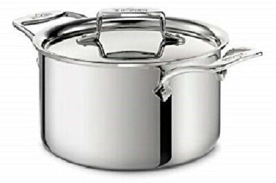 All-Clad D5 Polised 5-Ply Stainless Steel 4-qt Casserole with Lid