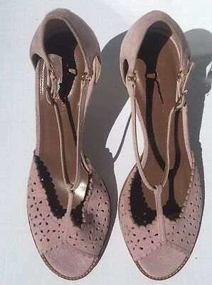 b43db51b7686 NWD Tabitha Simmons For J Crew Dusty Miller High Heel Sandals Lavender Sz 37