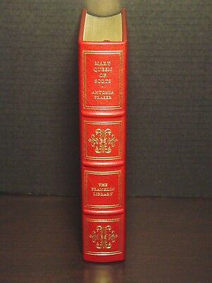 Signed 60 - Franklin Library - Mary Queen Of Scots - Antonia Fraiser - Leather