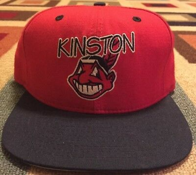 3e2b320aa38 VINTAGE NEW ERA Cleveland Indians Chief Wahoo Fitted Hat Cap Size 6 ...