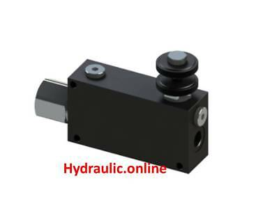 HYDRAULIC 3 way Priority flow control valves  ITALIAN Made FREE POST AUST!