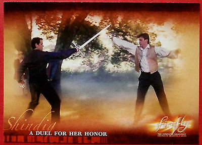 Joss Whedon's FIREFLY - Card #24 - A Duel For Her Honor - Inkworks 2006