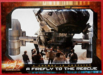 Joss Whedon's FIREFLY - Card #55 - A Firefly to the Rescue - Inkworks 2006