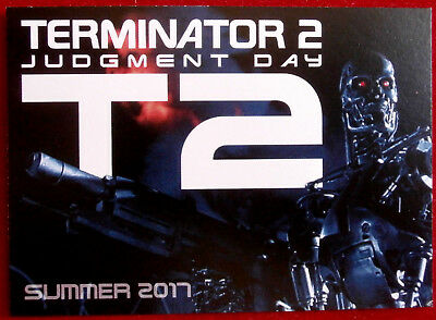 TERMINATOR 2 - JUDGMENT DAY - T2 - Promo Card PR3 - Unstoppable Cards 2017