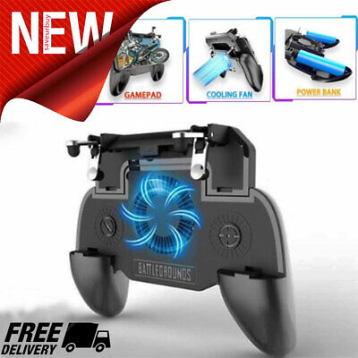 Mobile Gaming Controller Trigger for PUBG Games Rules Survival Gaming Grip USA