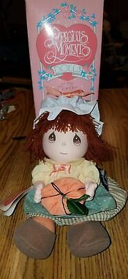 Precious Moments 1991 Doll of the Month October. Olivia. IOB