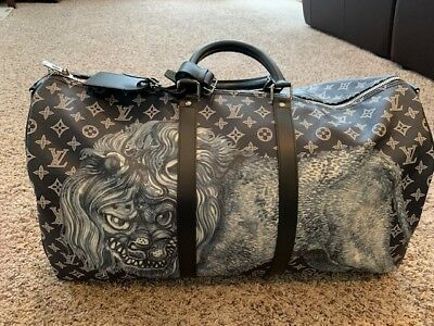 d87458465a0a Louis Vuitton Chapman Brothers Keepall 55 Brand New Collector Piece