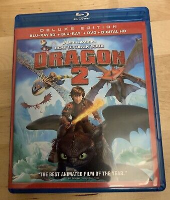 How To Train Your Dragon 2 3D Deluxe Edition  (3D Blu-Ray + DVD + Blu-Ray)