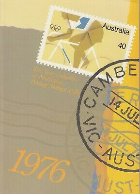 "1976 Sherwood ""the Complete Collection Of 1976 Australian Stamps"" Full Set Mnh"