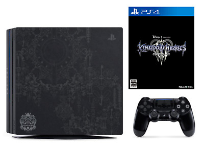 PlayStation 4 Pro KINGDOM HEARTS III LIMITED EDITION IN HAND SHIPS FROM USA!