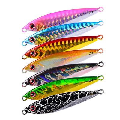 """Metal Fishing Lure Bait Without Hooks 6cm/2.36"""" 22g Lead Fish Baits Metal Tackle"""