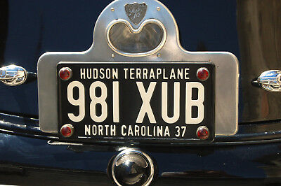 4 lovely rare genuine glass 30s/40s license plate 'jewels', fantastic red color