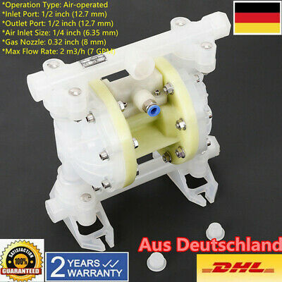 1/2'' Outlet Port 100 PSI Air-operated Druckluft-Doppelmembranpumpe Membranpumpe
